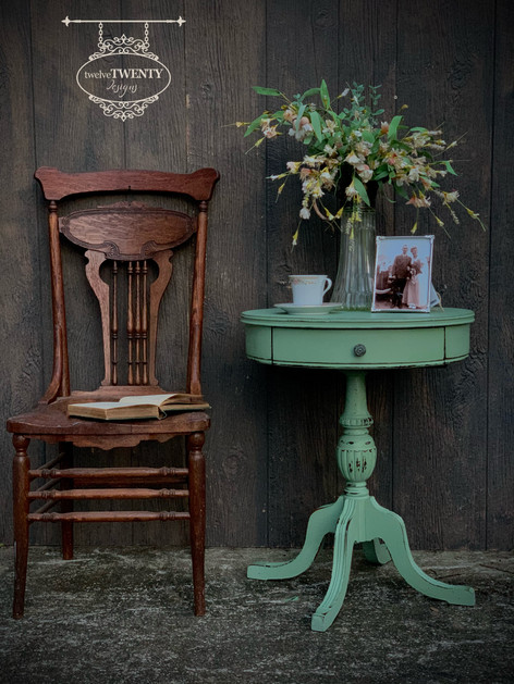 Liberty Green Side Table