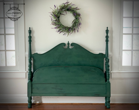 Amsterdam Antique Full Size Bed