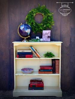 Leap Yellow bookcase
