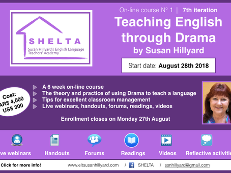 SHELTA course coming up!