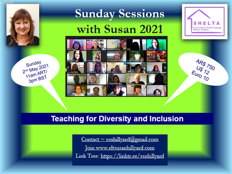Sunday Sessions with Susan 2/21 Teaching for Diversity and Inclusion