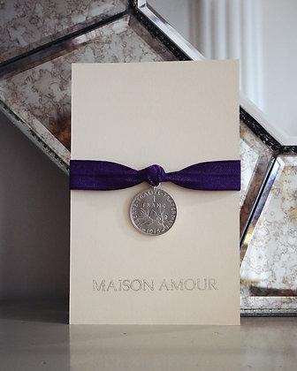 Bracelet Violet - Argent