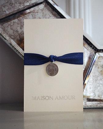 Bracelet Bleu Jean's - Argent