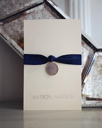 Bracelet Bleu Roi - Argent