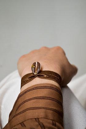 Le Grigri Cauri Coloré Bronze avec Estampe
