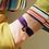 Thumbnail: Le Grigri Cauri Coloré Parme avec Estampe