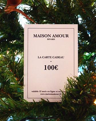 Carte Cadeau - 100€
