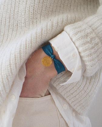 L'élastiqué bleu canard