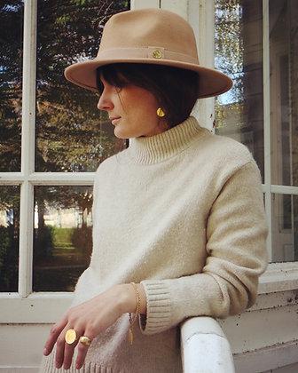 Le chapeau Beige