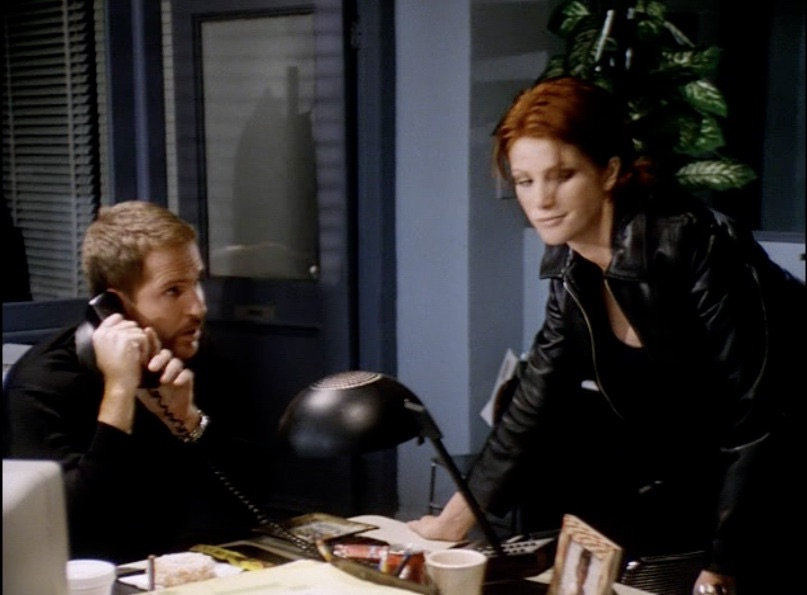 """Kelly Nelson and Angie Everhart in """"Garden of Evil"""""""
