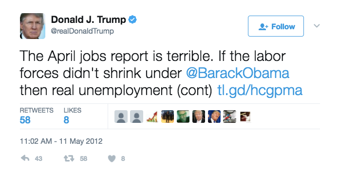 Revised March jobs report is less than half as good as report that Trump called 'terrible' f