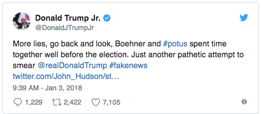 How could Trump not know who John Boehner is? Here's how