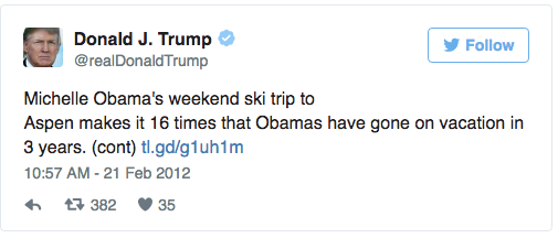 In just three months, his golf vacations have already cost more than 12 years' worth of Bill O&#