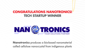 Maker of biodegradable alternative to plastic wins startup competition
