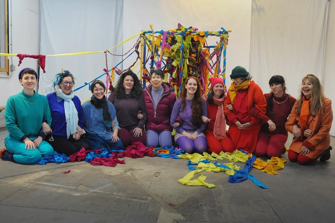 FEB 2019 COMMUNAL VORTEX WEAVE AT THE THREE PHASE CENTER FOR COLLABORATIVE RESEARCH