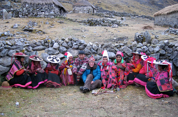 Q'ero in Charkapata Q'ero Nation, Cusco Peru