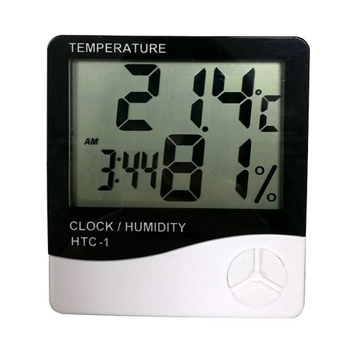 Temperature & Humidity Clock