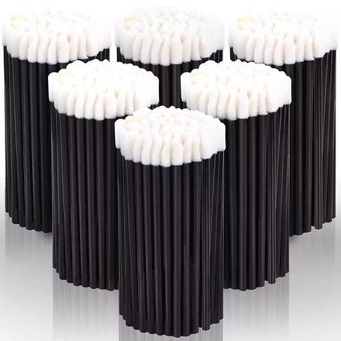 Disposable  black applicators  50pcs