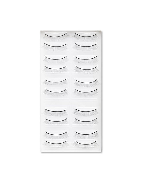 Reusable Practice Lashes x 10 Pairs