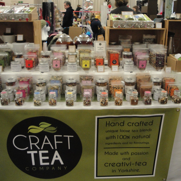 Craft Tea Company Stall 2016