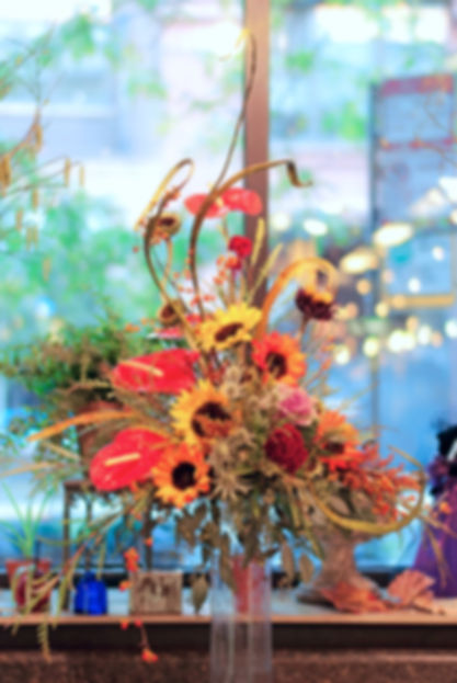 An exquisite floral arrangement for a high-profile client.