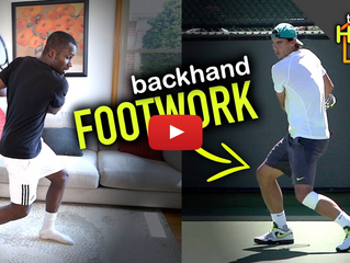 Home footwork training for tennis