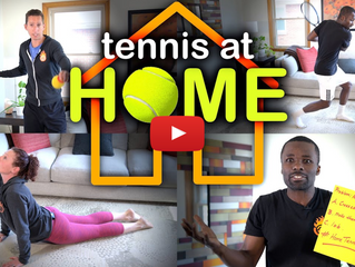 Improve your tennis at HOME!