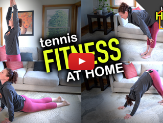 Home FITNESS training for tennis