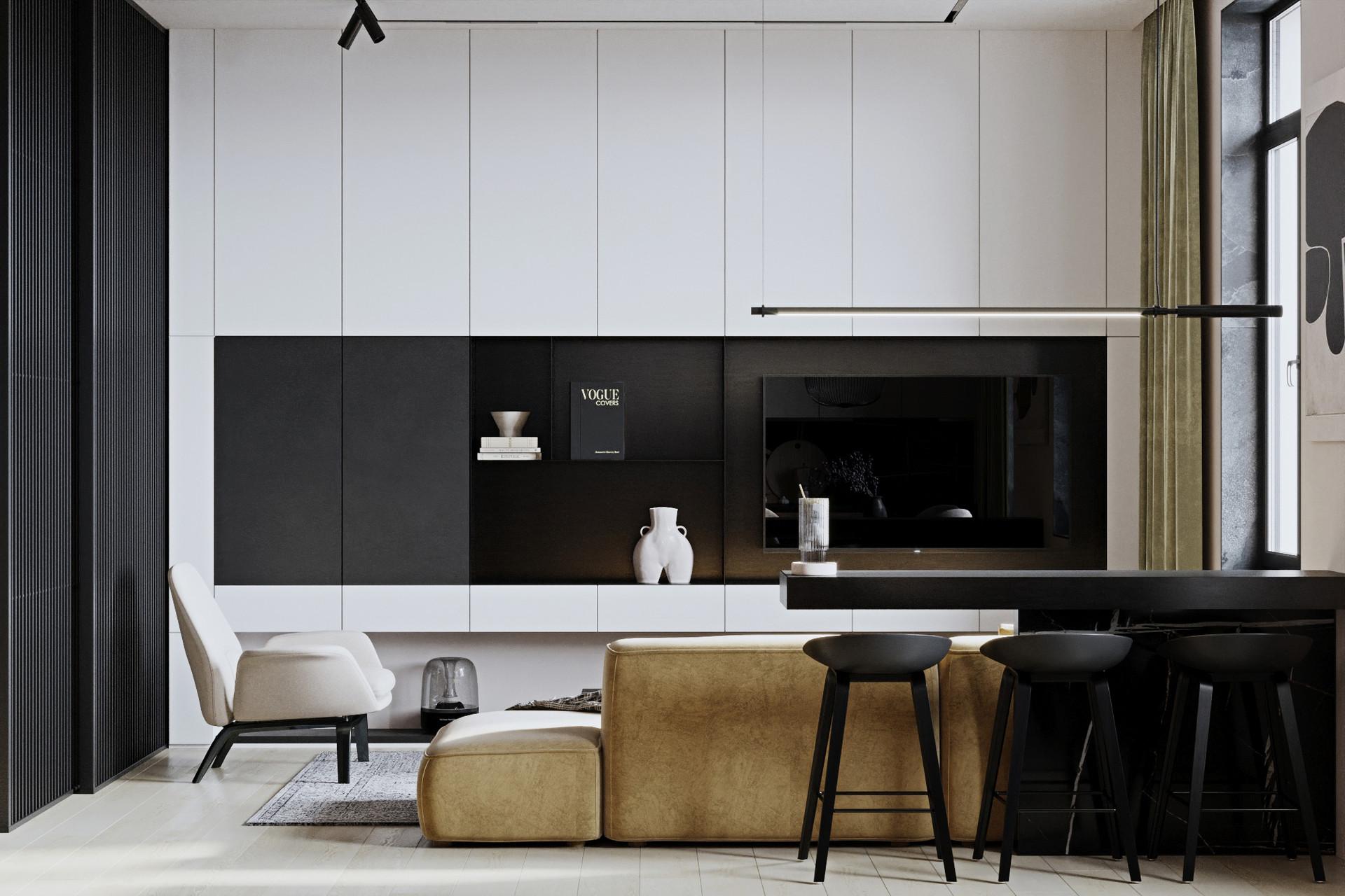 design interior SHUBOCHKINI architects дизайн интерьера SIA
