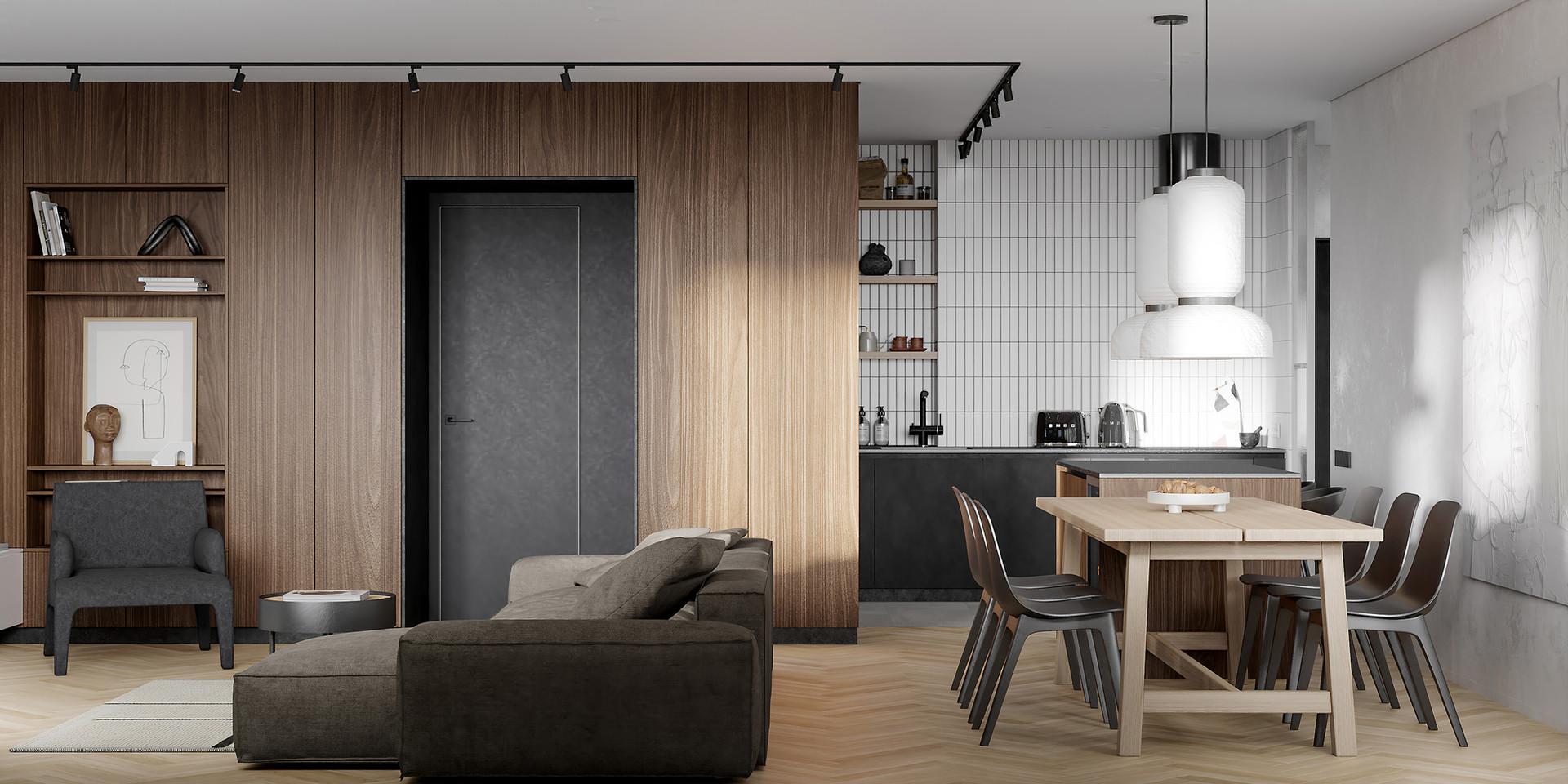 design interior SHUBOCHKINI architects SIA дизайн интерьераg