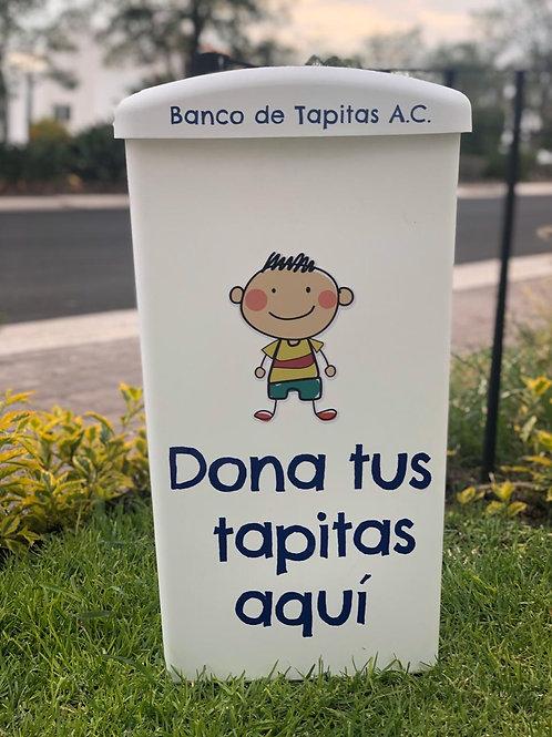 Contenedor de Tapitas Edición Paz
