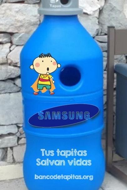 Mega Botella Contenedor de Tapitas