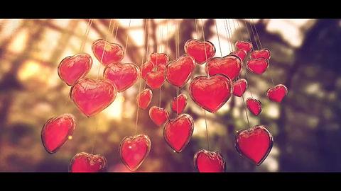 Herzchen am laufenden Band