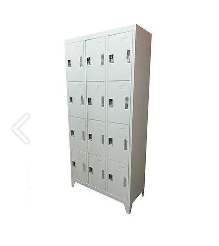 Locker de metal 12 puertas