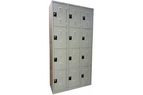 Locker de 12 compartimientos.