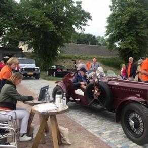 Rotary Classic Car Rally: 25.000 euro om Kinderen met sikkelcelziekte helpen