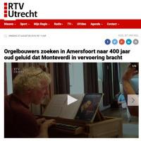 Orgelbouwers zoeken in Amersfoort naar 400 jaar oud geluid dat Monteverdi in vervoering bracht