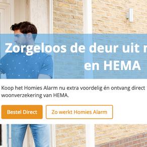 HEMA en Achmea bieden sociaal alarmsysteem Homies aan