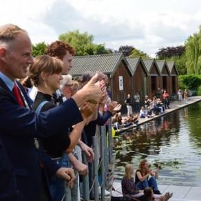 RV Naarden start Coastal Rowing in Huizen