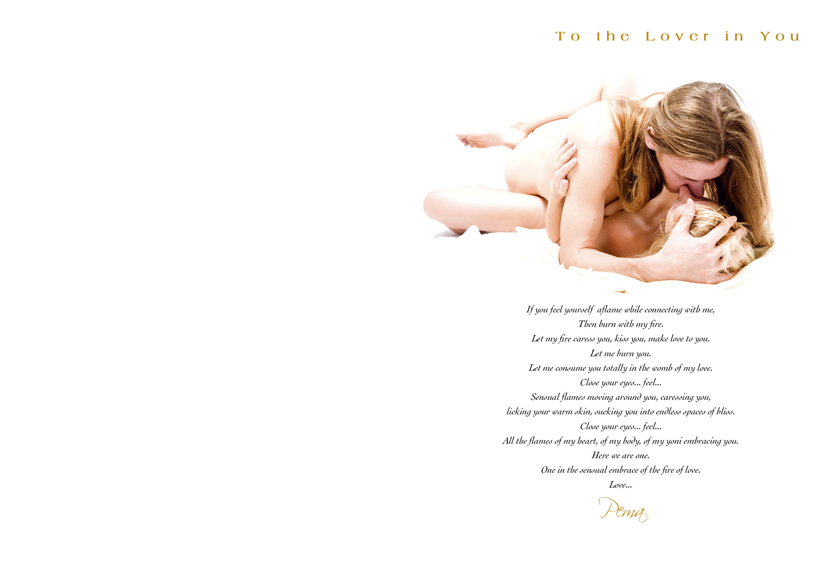 The lover in you