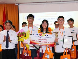 Đội thi Bioheads đến từ trường Đại học Y Dược Tp. Hồ Chí Minh trở thành nhà vô địch cuộc thi Stem Ce
