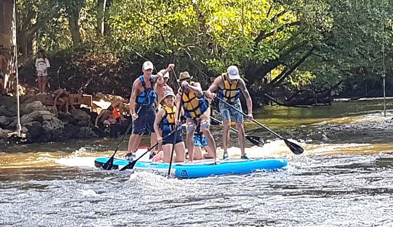 Sortie Rafting Paddle