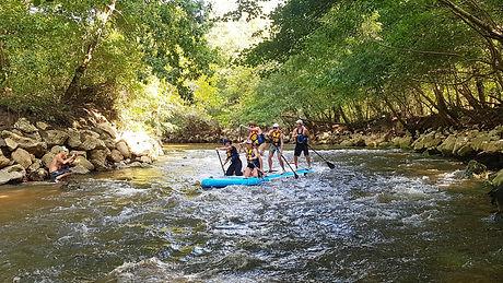 Sortie Rafting Paddle sur la l'eyre