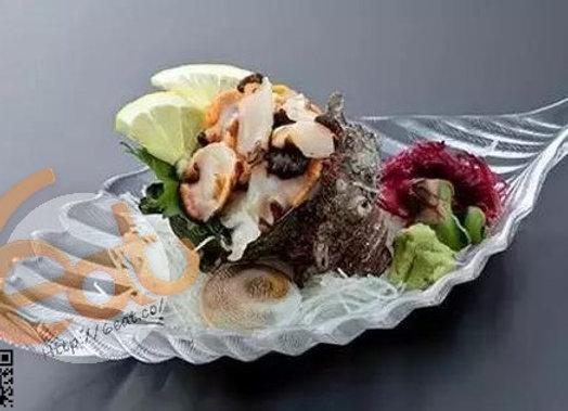蠑螺片刺身 | Sliced Whelk Sashimi | サザエ