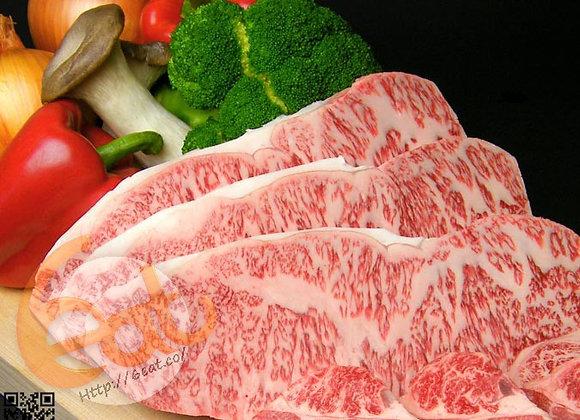 日本鹿兒島A4純種黑毛和牛西冷扒 | Japanese Kagoshima A4 Kuroge Wagyū Striploin Steak