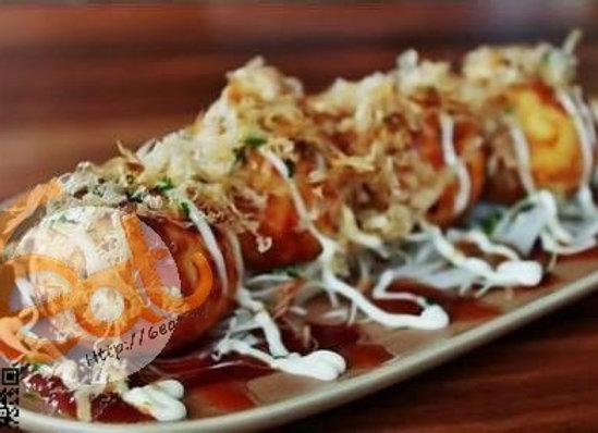 日式章魚小丸子 | Japanese Takoyaki