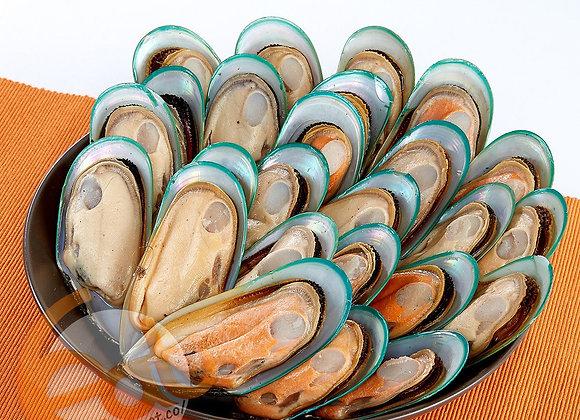 紐西蘭有機半殼青口(大) | New Zealand Organic Halfshell Green Mussels (L)