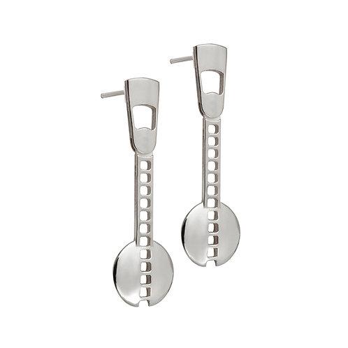 CL.E.106 Silver Drop Earrings