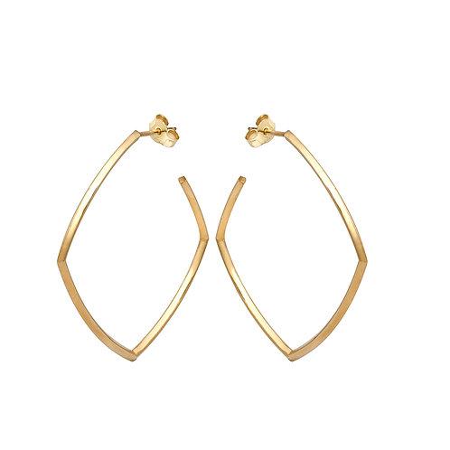 Silver Hoop Earrings G.E.105