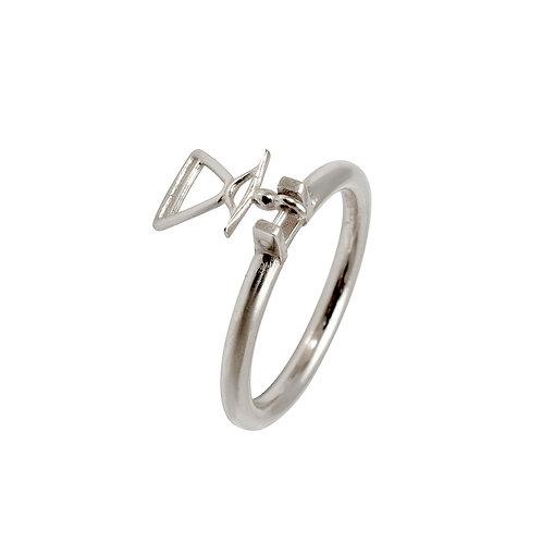 REV.R.100 Silver Ring